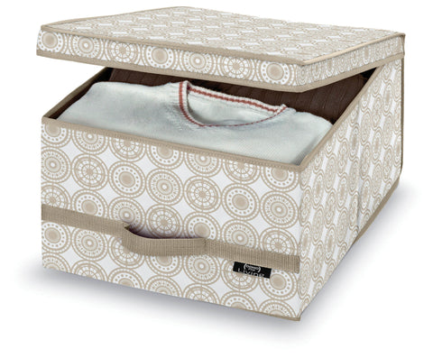 Large Garment Box - Ella Beige