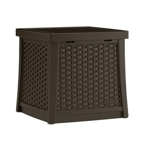 Suncast - 49 Litre Deck Box Side Table