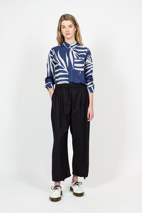 Balloon Tropical Wool Pant