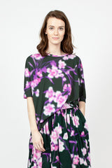 Softly Blurred Floral T Shirt