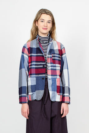 Loiter Big Plaid Madras Jacket