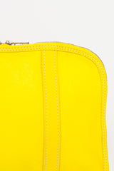 GB002 Yellow Medium Pouch