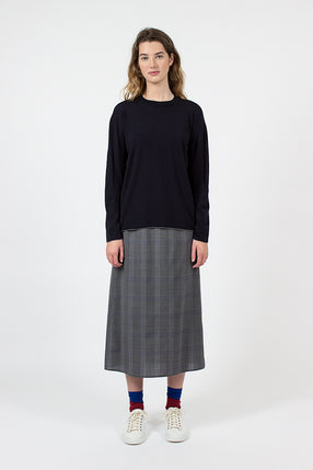 Swivel Skirt Grey/Blue