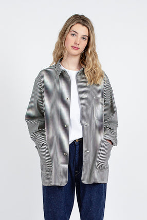 Hickory Stripe Coverall Jacket