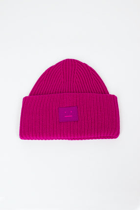 Pansy N Face Hat Magenta Pink