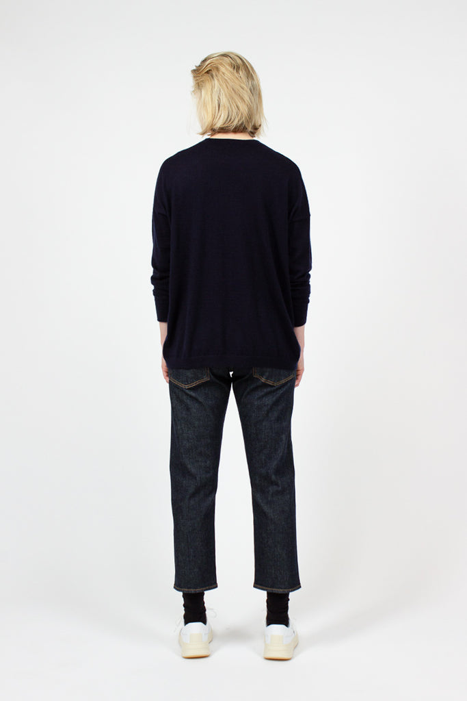 Selvedge Rinse Shorty Jean