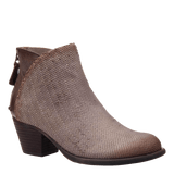 COMPASS in DARK TAUPE Ankle Boots