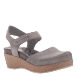 ELIZABETH in GREY SILVER Sandals
