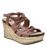 FAR SIDE in MAUVE Wedge Sandals