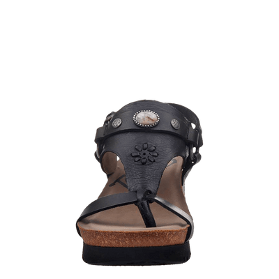 Womens wedge Maverick new black front