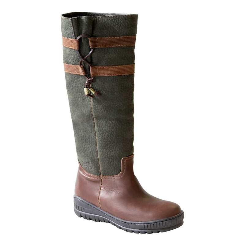 MOVE ON in GREEN BROWN Cold Weather Boots