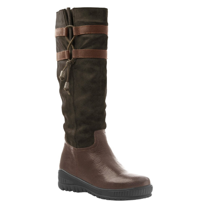 MOVE ON in DARK BROWN Cold Weather Boots