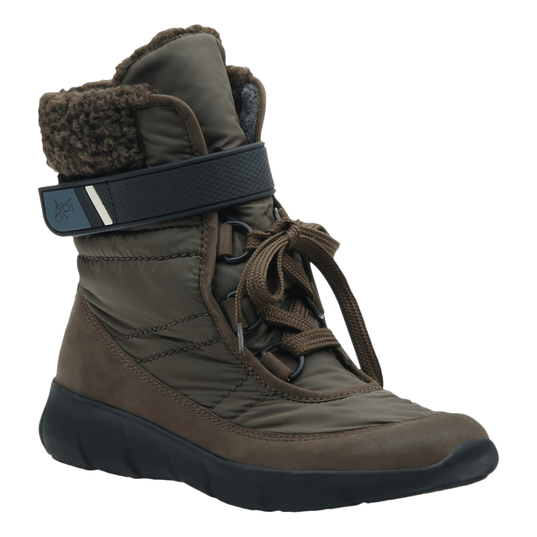 Womens cold weather boot pioneer in mint