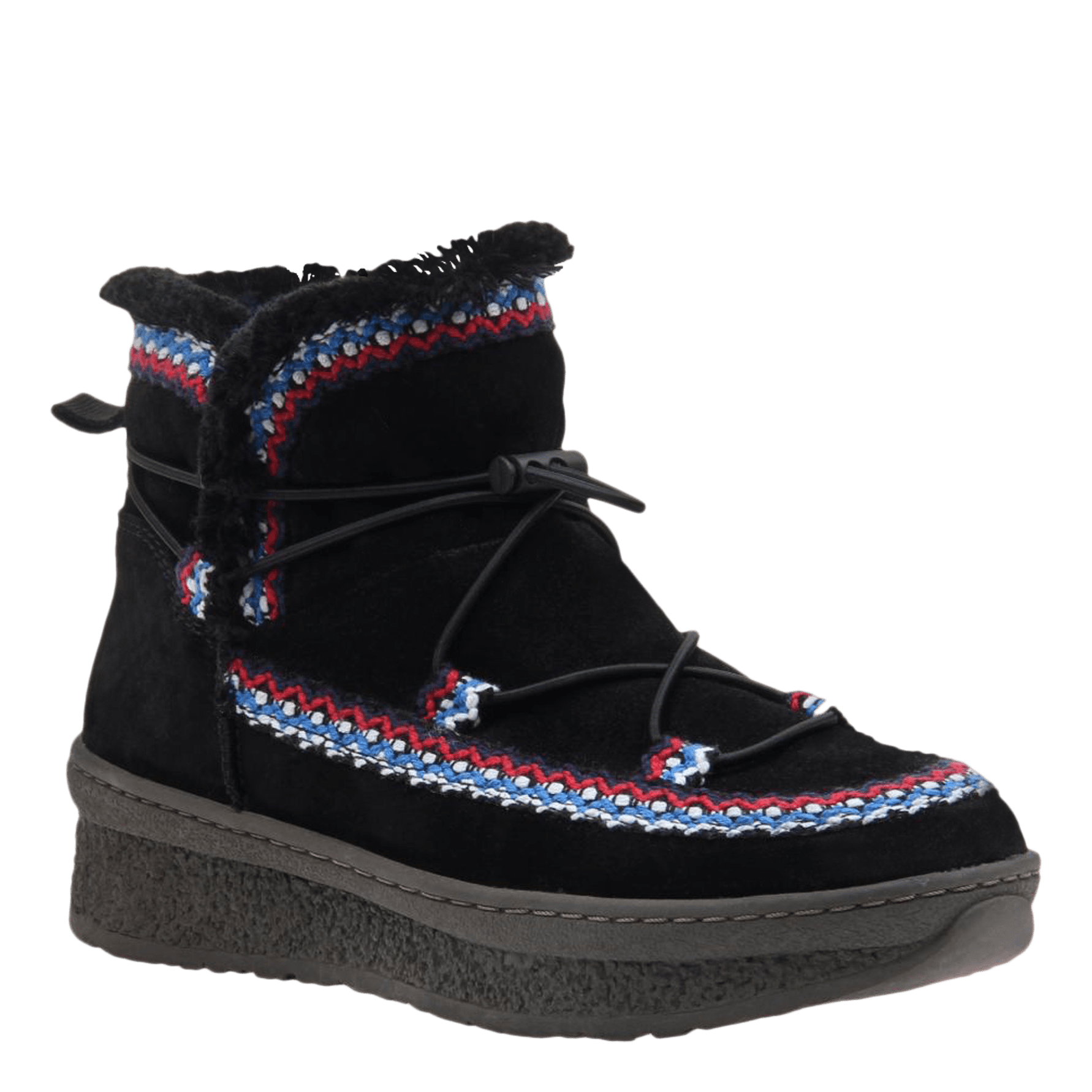 Womens cold weather boot Terreno in black