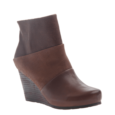 Dharma women's ankle boot in acorn