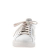 Normcore women's sneakers in white  front view