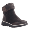Women's cold weather boot the outing in dark brown