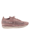 Womens cut out sneaker Nebula in Salmon side view