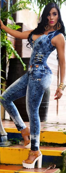 Jumpsuit Capoheira - awesome jeans colombia