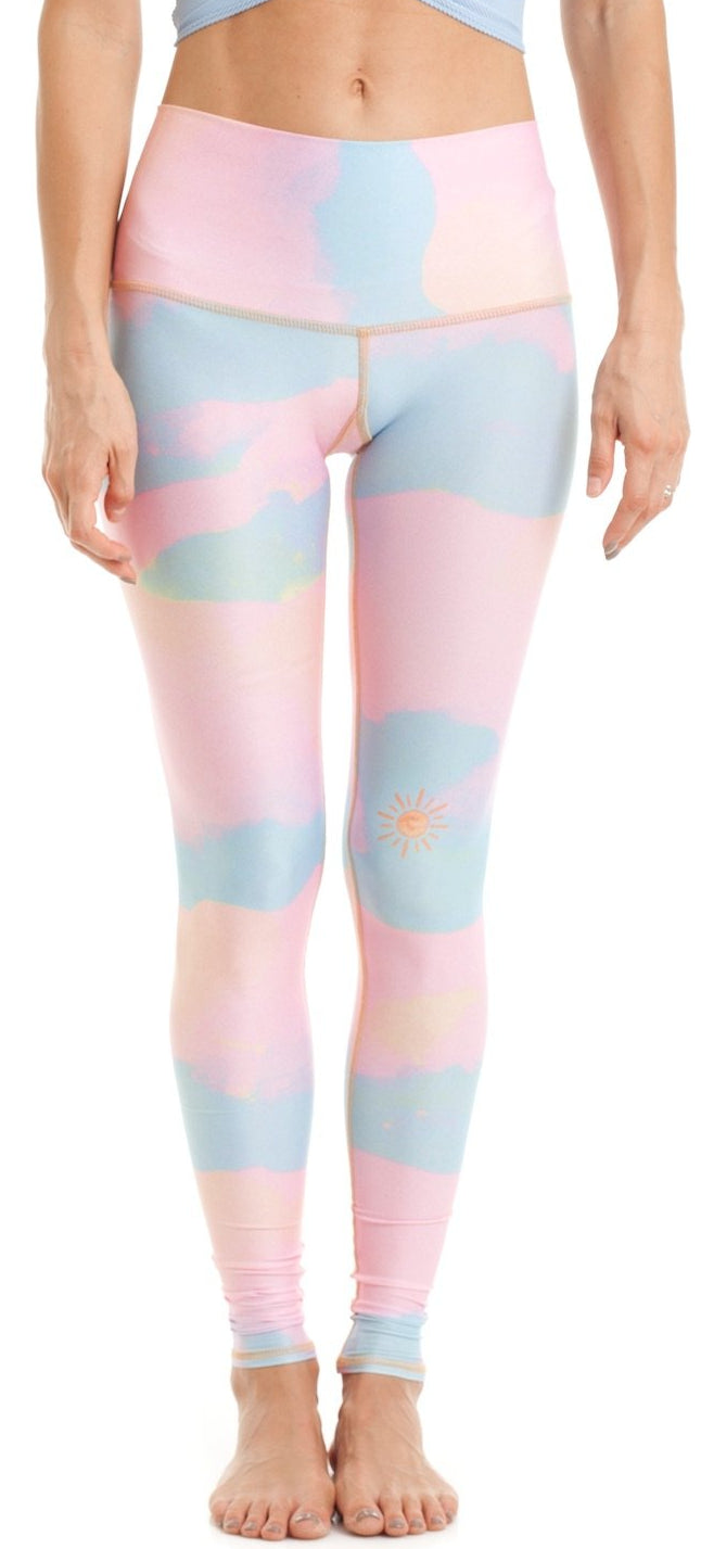 New moon rainbow Legging