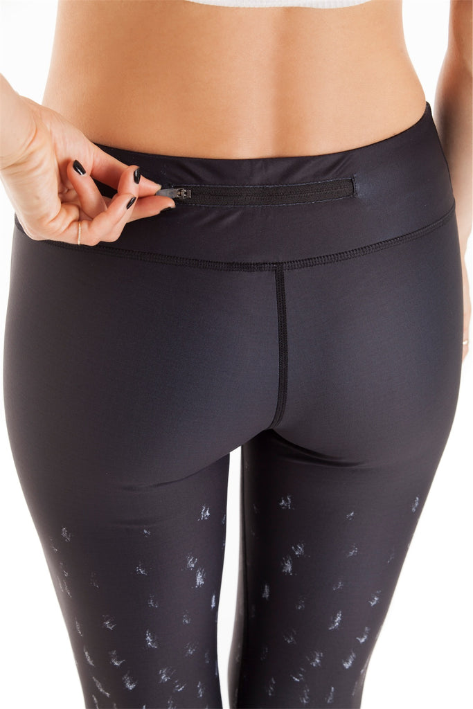 Wolf Cropped Legging