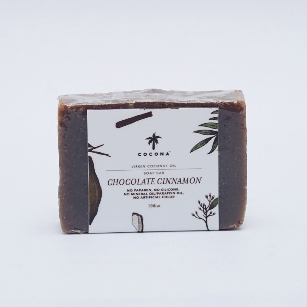 Cocona Natural Soap Bar Chocolate Cinnamon