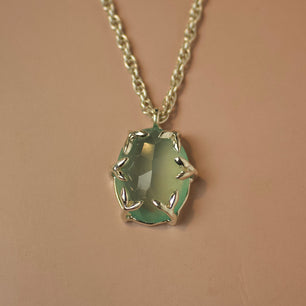 Ready To Ship ✦ Green Onyx Necklace - Necklace The Serpents Club
