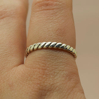 Bound I Ring - Silver or Gold - Ring The Serpents Club