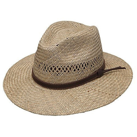 Stetson & Dobbs Oschds-3830 Mens Childress Hats Natural