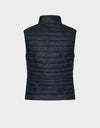 Womens GIGA Puffer Vest in Black