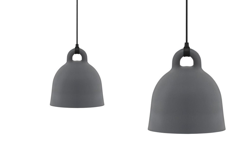 Bell Lamp - Grey - Large