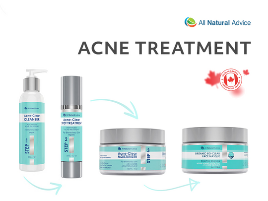 Organic Acne Treatment Kit