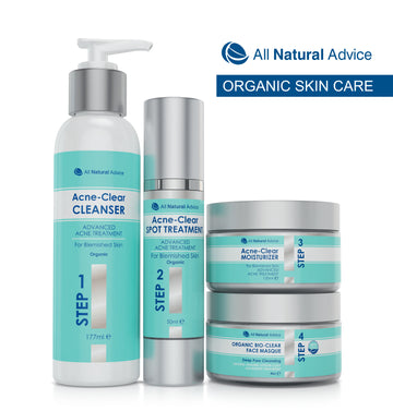 Complete Acne Treatment Kit - Steps 1 to 4