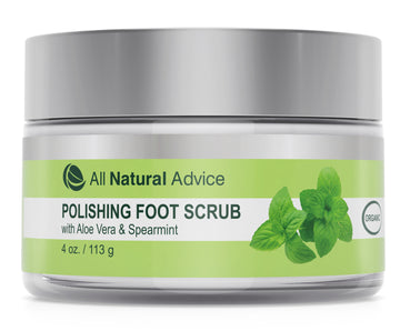 Foot Scrub Polisher with Pumice and Aloe