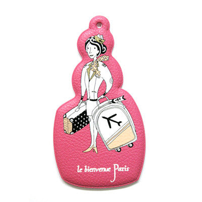 Luggage Tag Welcome to Paris - Stewardess
