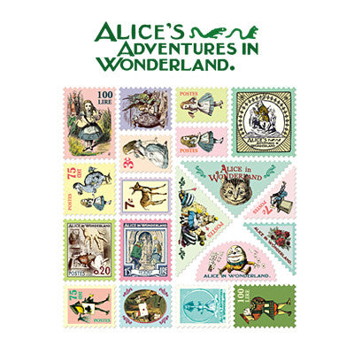 Stamp Sticker Set V.3 - Alice in Wonderland - AL1958