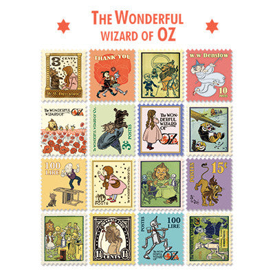 Stamp Sticker Set V.4 - The Wizard of Oz - A Type 01 - OZ4344