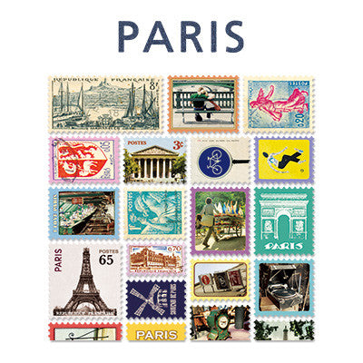 Stamp Sticker Set V.4 - Paris  - B Type 02 - VY4313