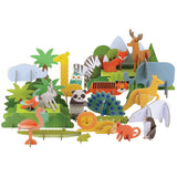 Animals of the World Deluxe Pop-Up & Play Set