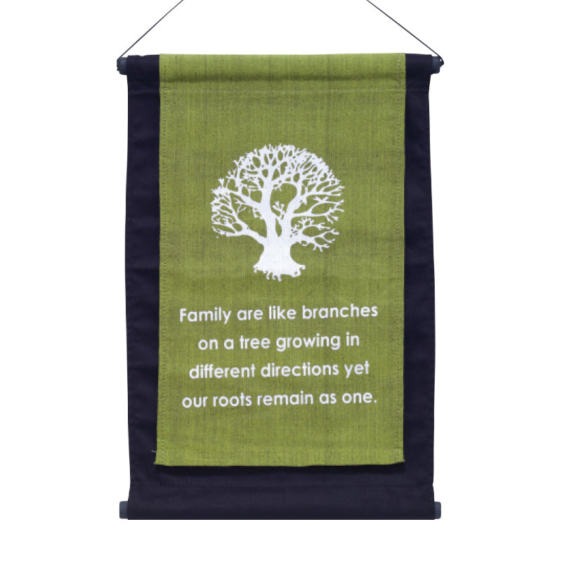 Family Tree Affirmation Banner