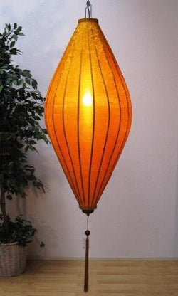 Chinese Lantern Oval 6', Gold