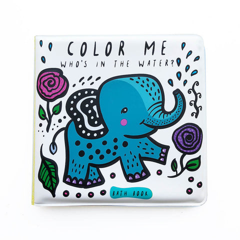 Colour Me: Who's In The Water? Baby's First Bath Book By Surya Sajnani