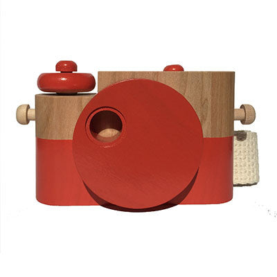 Poppy Pixie Wooden Toy Camera by Twig Creative - Junior Edition