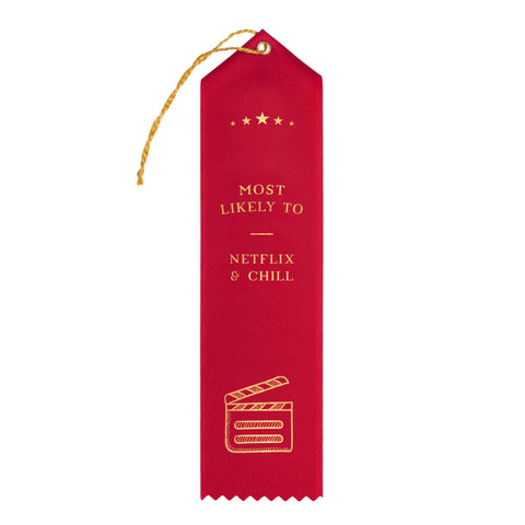 Netflix & Chill Award Ribbon