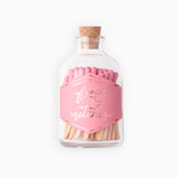 Small Tutu Pink Match Jar
