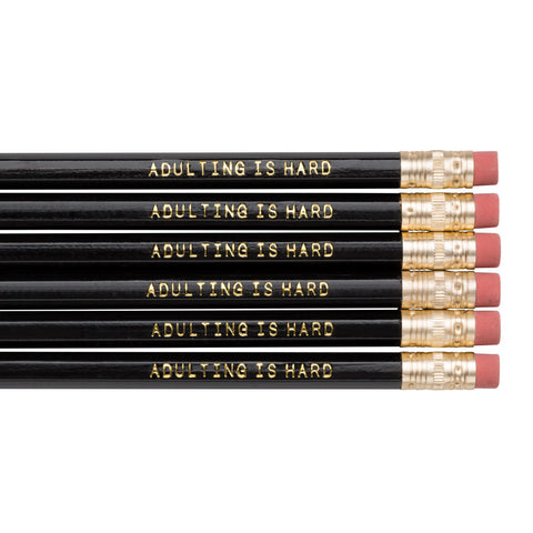 Adulting is Hard pencils