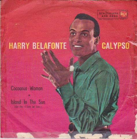 "Harry Belafonte - Island In The Sun (7"", Single) - USED"