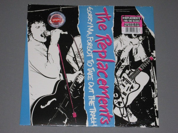 The Replacements - Sorry Ma, Forgot To Take Out The Trash (LP, Album, RE) - NEW
