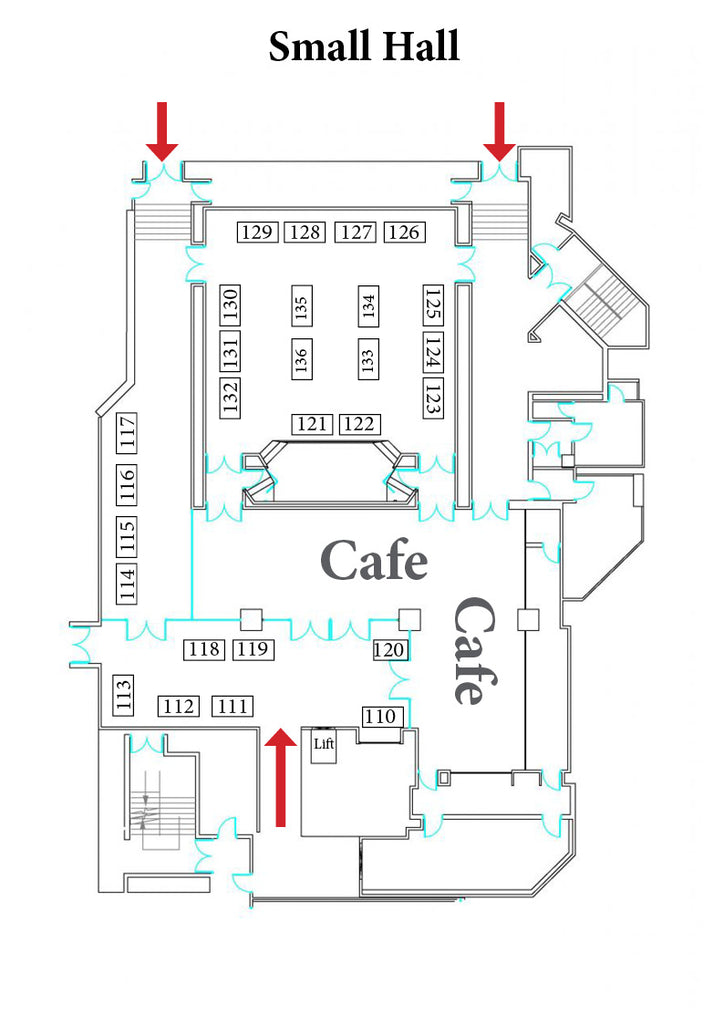 7 Floor Plans Small Hall Upstairs 6' £80