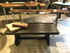 Vintage Train Car bench/coffee table